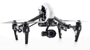 DJI Zenmuse x5 drone