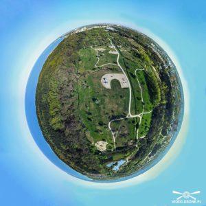 Park im. Ronalda Reagana 360° z drona