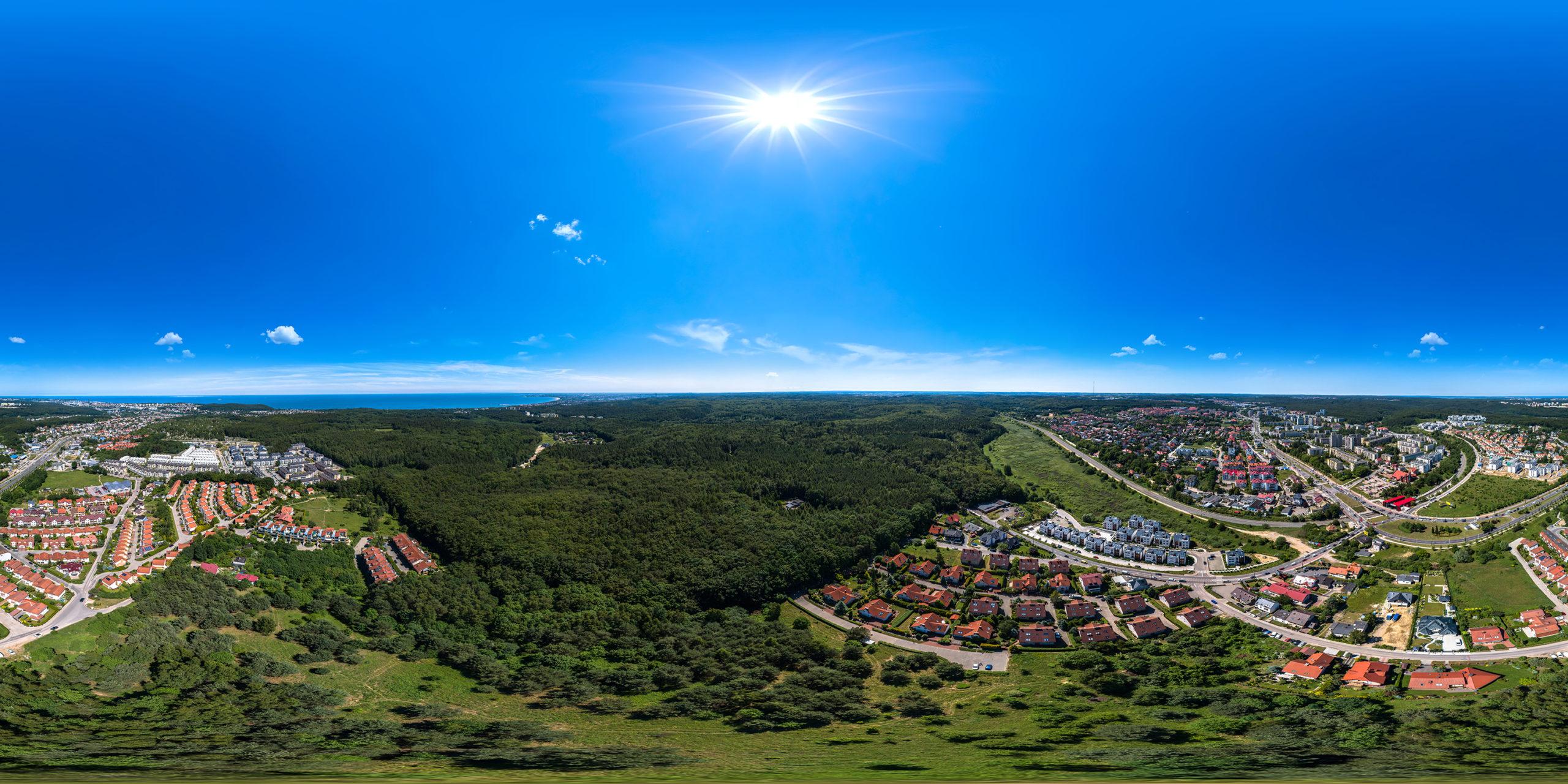 Panoramy 360 Gdynia, panorama 360°