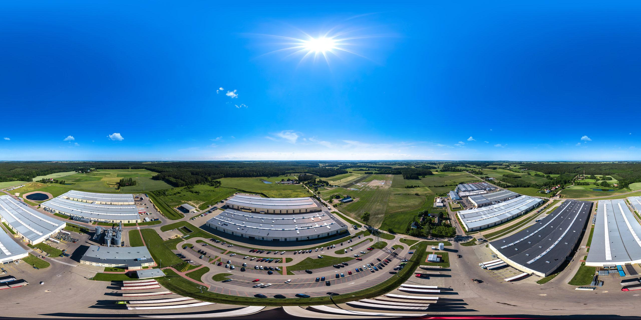 Panorama 360°, wirtualny spacer 360